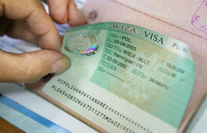 как выглядит электронная виза наклеенная в загранпаспорте